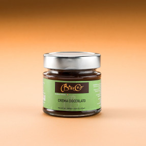 Dark chocolate spreadable cream