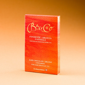 Tavoletta Cioccolato Fondente 72% Arancia e Cannella