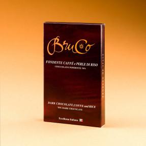 Tavoletta Cioccolato Fondente 70% caffè e perle di Riso