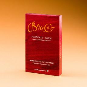 Tavoletta Cioccolato Fondente 72% e Anice
