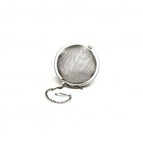 Filtro ovale con catenella in metallo