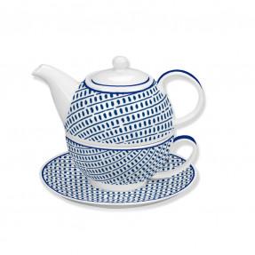 Porcelain tea for one