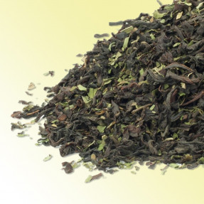 Moroccan Mint Ceylon and Indian black tea