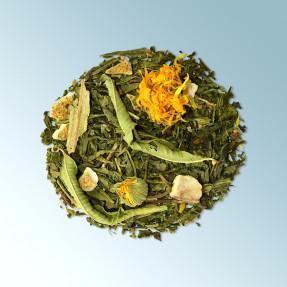 Tè verde bio fruttato gusto mandarino-pompelmo,Mellow...
