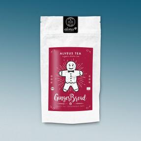 Tè nero biologico gusto panpepato, 100 gr sfuso, Ginger...